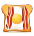 toast 08 vector image vector image