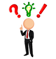 entrepreneurs with ideas vector image