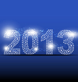 2013 new year banner design vector image