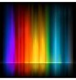 Aurora Borealis Colorful abstract EPS 8 vector image vector image