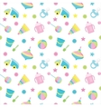 Baby toy pattern vector image