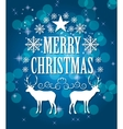 Abstract Christmas Background vector image
