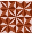 Abstract geometric polygonal background composed vector image