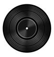 Vinyl audio disc vector image vector image