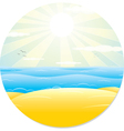 Summer Tropical Landscape vector image vector image