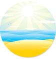 Summer Tropical Landscape vector image