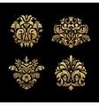 Royal background elements vector image