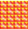 Retro seamless warm pattern vector image