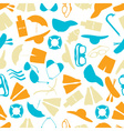 summer and beach color pattern eps10 vector image