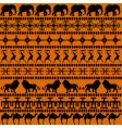 African motives vector image
