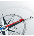 compass east vector image vector image