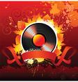 autumn music vector image
