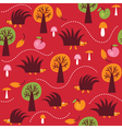 Children fabric design vector image
