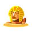icon sphinx vector image vector image