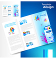 brochure printer cmyk prepress polygraphy ink vector image