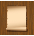 old paper wooden vector image