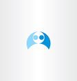 men wrestling icon element vector image