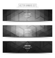 Technology Web Banners vector image