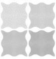 set the watermark guilloche element vector image