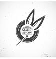 Circus vintage magic show vector image
