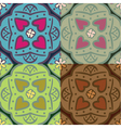Seamless ornate backgrounds vector image