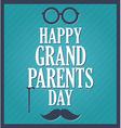 Grandparents icon vector image