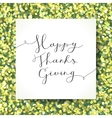 happy thanksgiving lettering vector image
