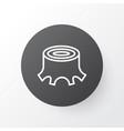 Stump icon symbol premium quality isolated tree vector image