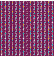 Tangled knitted pattern vector image