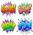 comic book vector image vector image