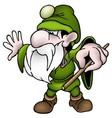 Green Dwarf vector image