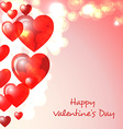 Happy Valentimes day greeting card vector image