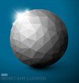 Geometric baubles vector image vector image