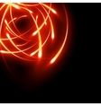 Blurred neon light curves EPS 10 vector image