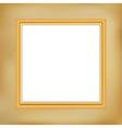 vintage framework vector image vector image