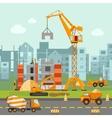 Building Work vector image