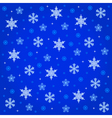 midnight snowfall vector image