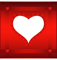 Valentin card or background vector image