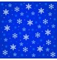 midnight snowfall vector image
