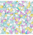 abstract triangles pattern vector image