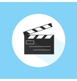 Clapboard Video Cinema Movie Studio Equipment Pro vector image
