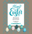 card holiday easter vector image