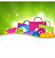 Shopping Background vector image vector image