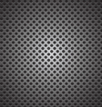 seamless circle perforated carbon speaker grill vector image