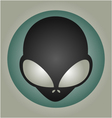 nice alien mask vector image