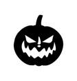 jack-o-lantern pumpkin vector image