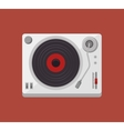 player music vinyl isolated icon vector image