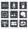Icons for Web Design and Mobile Applications set 3 vector image