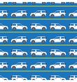white automobiles vector image