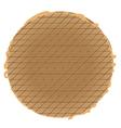 stroopwafel vector image vector image